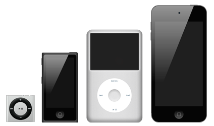 Ремонт Mp3-плееров Apple iPod в Одессе